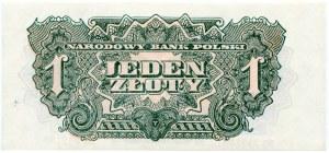 1 złoty 1944 ...owym - EO -