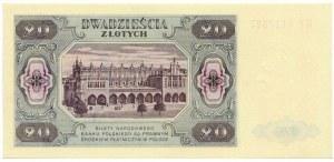 20 złotych 1948 - HT -