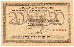 20 marek polskich 1919 - F -