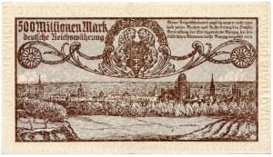 Gdańsk, 500 milionów marek 1923