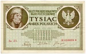 1000 marek 1919 - Ser. ZA. -