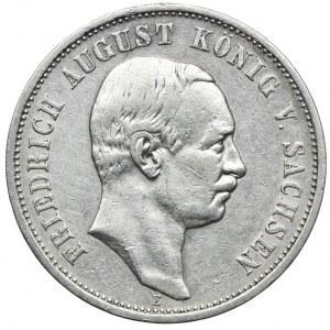 Niemcy, Saksonia, 3 marki 1910 E, Muldenhütten