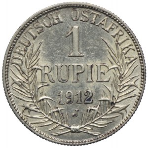 Niemiecka Afryka Wschodnia, Wilhelm II, 1 rupia 1912 J, Hamburg