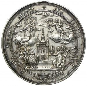 Medal, Ołomuniec 1731, Kardynał Wolfgang Hannibal Schrattenbach