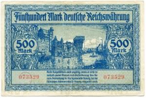 Gdańsk, 500 marek 1922