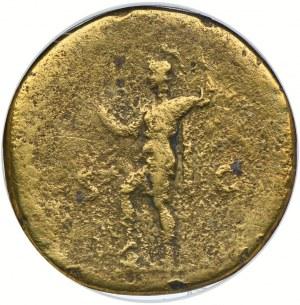 Cesarstwo Rzymskie, Hadrian 117-138, sestercja, GCN G06