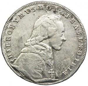 Austria, Hieronim Józef Franciszek graf Colloredo, 20 krajcarów 1775, Salzburg