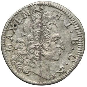 Niemcy, Bawaria, Maksymilian, 3 krajcary 1721