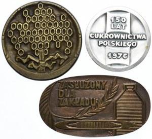 Zestaw medali Polska - PRL (3 szt.)