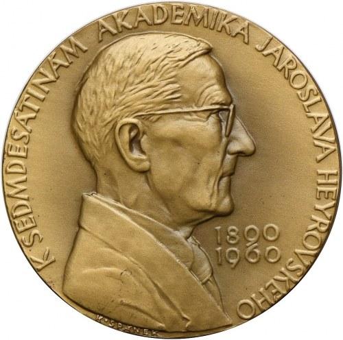 Medal, Czechosłowacka Akademia Nauk - Jaroslav Heyrovský 1960