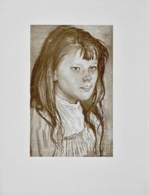 Stanisław Wyspiański (1869-1907), Głowa dziewczynki