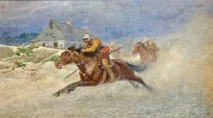 Antoni Piotrowski (1853 Nietulisko - 1924 Warszawa), Pościg