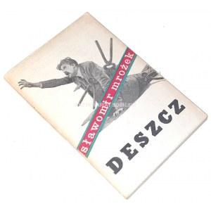 MROŻEK- DESZCZ wyd.1 ilustracje Daniel Mróz