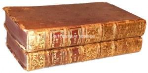 DESFONTAINES- HISTOIRE DES REVOLUTION DE POLOGNE t.1-2 (komplet) wyd. 1735 [HISTORYA REWOLUCJI W POLSCE]
