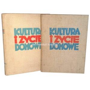 KULTURA I ŻYCIE DOMOWE 1-2 ilustrowany poradnik 1938