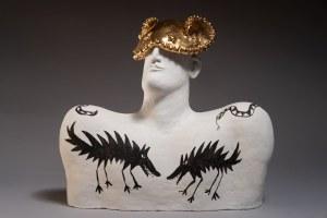 Anna Malicka-Zamorska, Popiersie ceramiczne