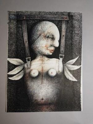 Piotr Kamieniarz, Rysunek piórkiem