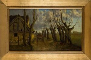 Seweryn Bieszczad, Pejzaż wiejski, początek XX wieku