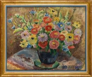 Karol Hiller, Kwiaty w wazonie, 1938