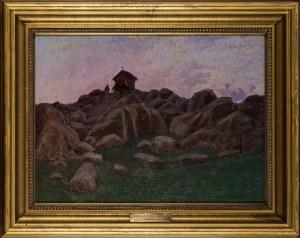 Bronisława Rychter - Janowska, Nokturn - Pejzaż z Sycylii (Monte Pellegrino), 1914