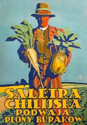 Stefan Norblin, Saletra chilijska podwaja plony buraków, 1927