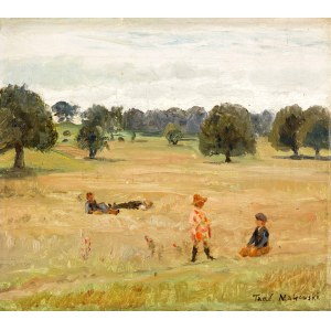 Tadeusz MAKOWSKI (1882 Oświęcim - 1932 Paryż), Dzieci w pejzażu, ok. 1917-1918