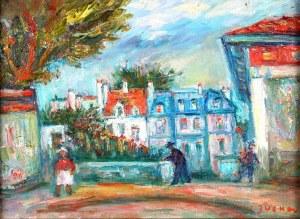 Jacques ZUCKER (Jakub Cukier) (1900 Radom - 1981 Nowy Jork), Francuskie miasteczko