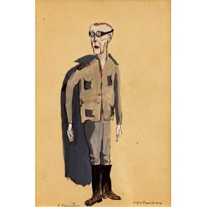 Tadeusz KANTOR (1915 Wielopole Skrzyńskie - 1990 Kraków), Heckmann - projekt kostiumu