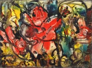 Alfred LENICA (1899 Pabianice - 1977 Warszawa), Abstrakcja barwna