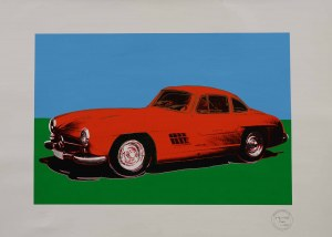 Andy WARHOL (1928 Pittsburgh, Stany Zjednoczone - 1987 Nowy Jork, Stany Zjednoczone), Mercedes-Benz 300 SL Coupé