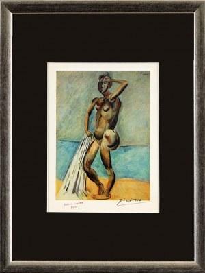 Pablo PICASSO (1881 Málaga, Hiszpania - 1973 Mougins, Francja), Kąpiąca się