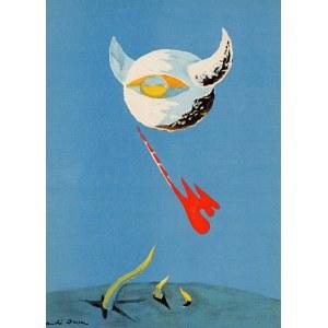 André MASSON (1896 Balagny-sur-Thérain, Francja - 1987 Paryż, Francja), Księżyc