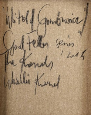 THE KRASNALS. WHIELKI KRASNAL, Witold Gombrowicz, z cyklu GoodFellas, 2014