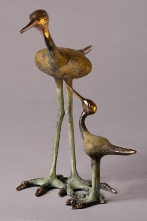 Iwona Krajnik, Ptaki z brązu