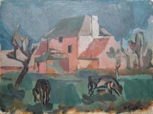 Henryk (Chaim) EPSTEIN (1890-1944), Widok fermy