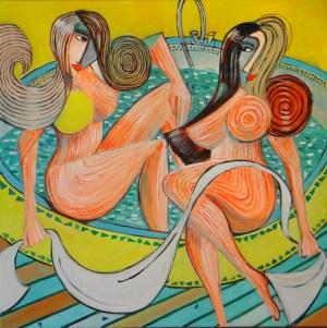 Tomasz Kuran, Siostry w kąpieli przed wizytą u Lota, 2020
