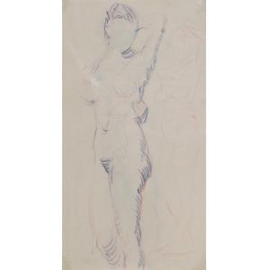 Tadeusz BARWECKI-SZEWCZYK (1912-1999), Studia aktów kobiecych