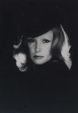 Zofia NASIEROWSKA (1938-2011), Portret Beaty Tyszkiewicz w woalce