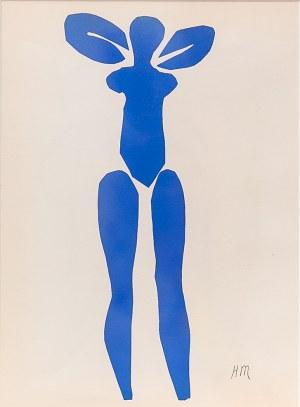 Henri Matisse (1869-1954), NU BLEU I, 1954 r.