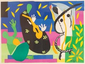 Henri Matisse (1869-1954), LA TRISTESSE DU ROI, 1952 r.