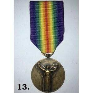 Francuski Medal Inter-Allied Victory 1914 - 18