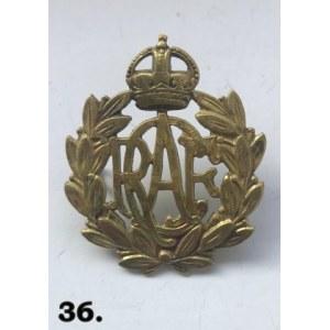 Oryginalna odznaka czapki RCAF