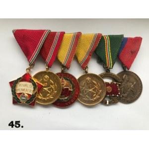 Węgierska grupa medalowa z okresu realnego socjalizmu