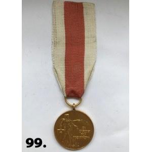 """Medal """"Za Zasługi dla Pożarnictwa"""" PRL"""