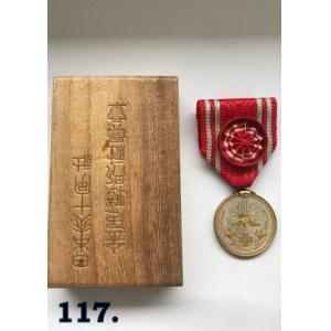 Medal I klasy - złoty Japońskiego Czerwonego Krzyża