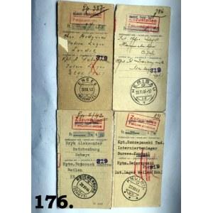 Odcinki kontrolne przekazów pieniężnych wysłanych z poczty polowej