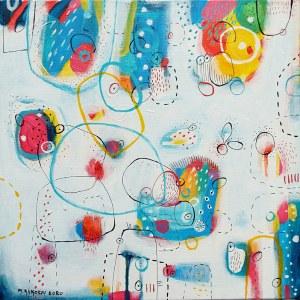 Marlena Rakoczy (ur. 1976), Positive energy, 2020