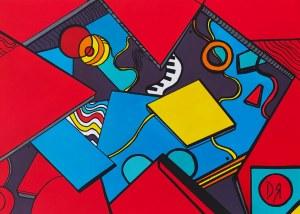 Dominika Radomska (ur. 1986), W czerwonym ogrodzie, 2020