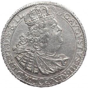 August III, ort 1760, Gdańsk