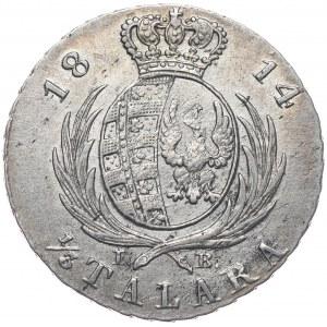 Księstwo Warszawskie, Fryderyk August I, 1/3 talara 1814